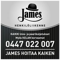 James - henkilöliikenne